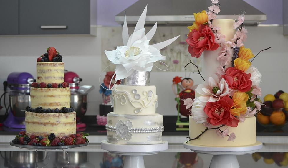 Tendencias en pasteles de bodas