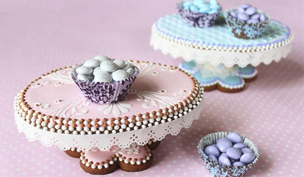 Galletas decoradas 3D, con Julia Usher