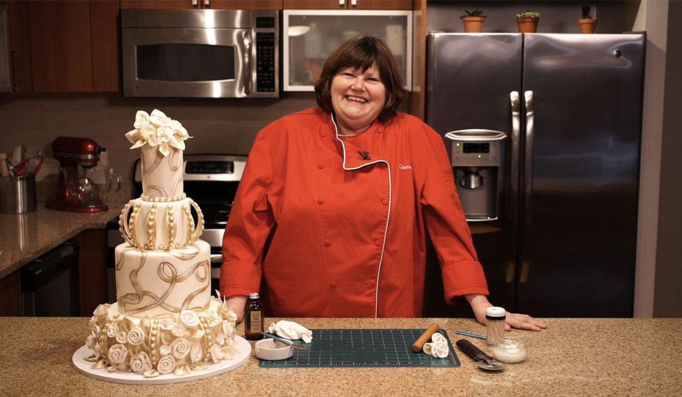 Pasteles de boda, con Colette Peters