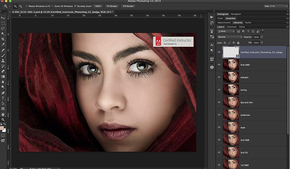 Técnicas avanzadas de retoque de retrato