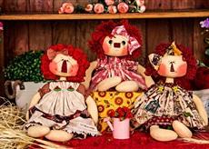 Muñecas country de Millyta