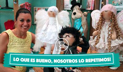 Muñecas de Trapo y Animalitos Articulados