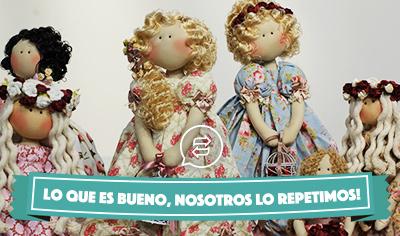 Muñecas Románticas de Millyta