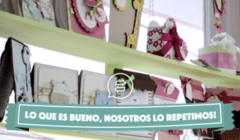 Scrap para baby shower: decoraciones en papel