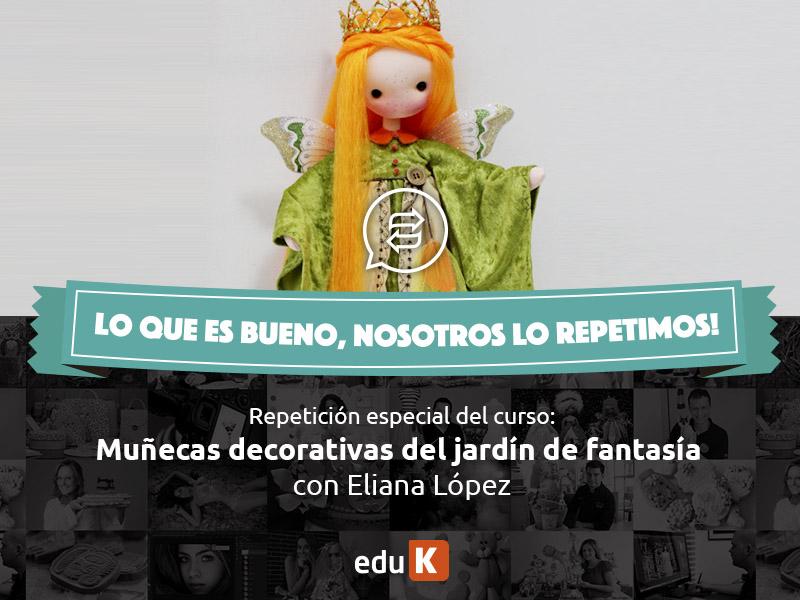 Muñecas decorativas del jardín de fantasía